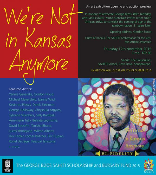 Bizos Exhibition | We're not in Kansas anymore