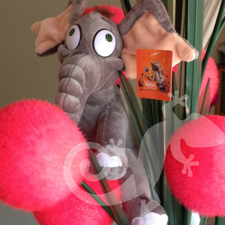 Horton's pink ball flowers,Cat in the Hat, Baby Shower