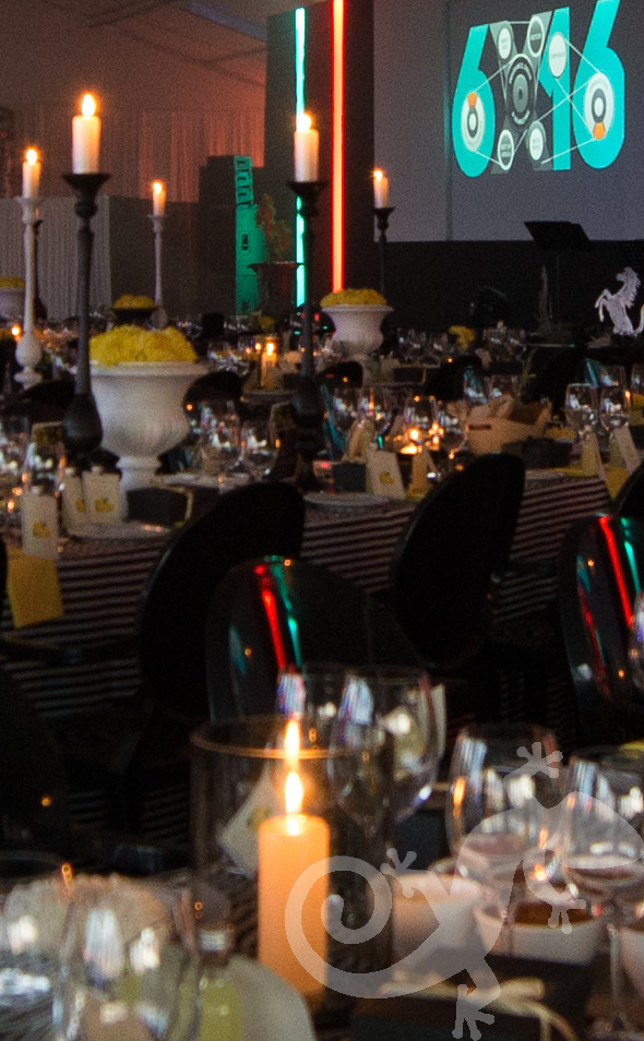 Top Achievers, corporate,  table décor, table setting