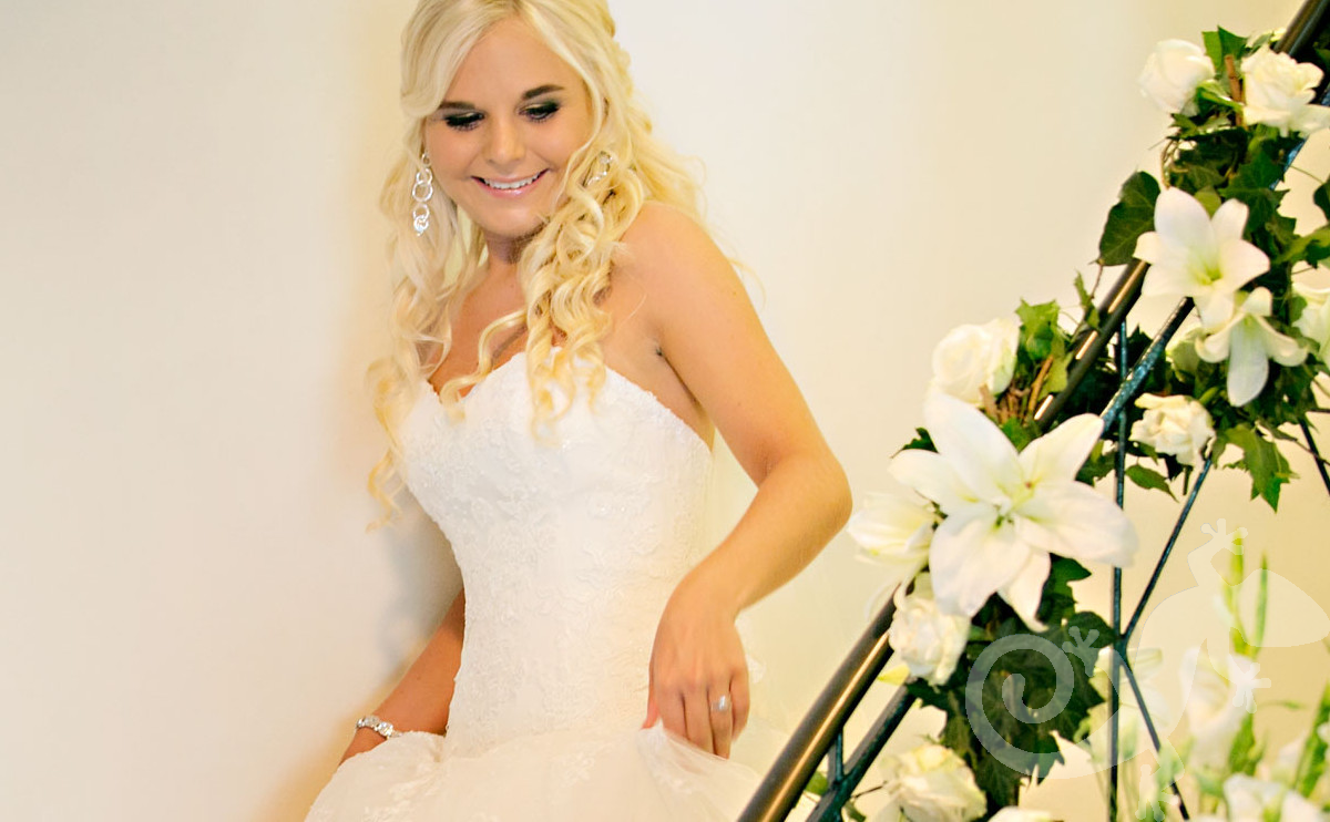 Bride,  Can you feel it?  wedding styling, sweet anticipation, floral detail