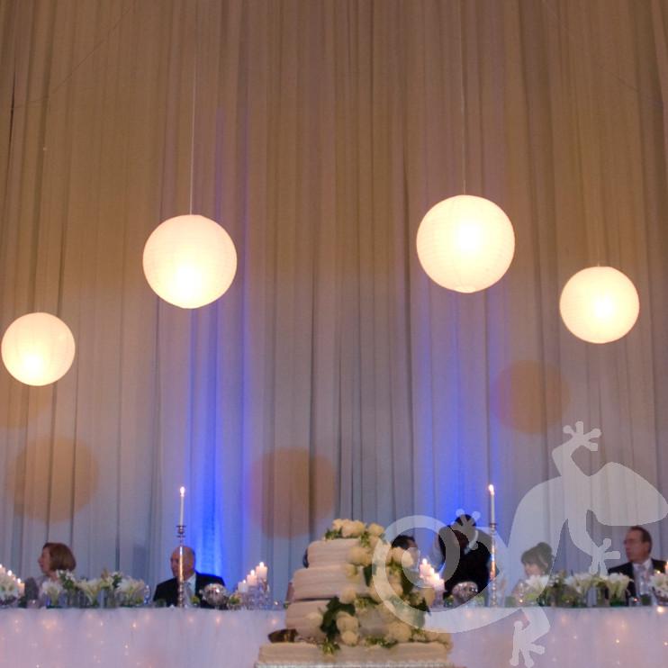 wedding, I do, table decor, menu, glass candle holder, main table