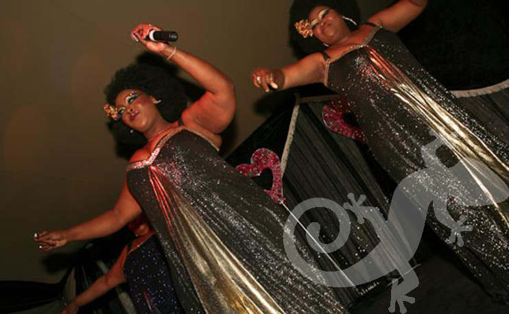 the 3 tons, Glam disco singers, entertainment, show stopper