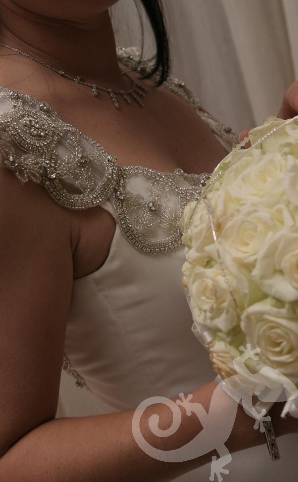 Can you feel it?  wedding elegance, bridal bouquet