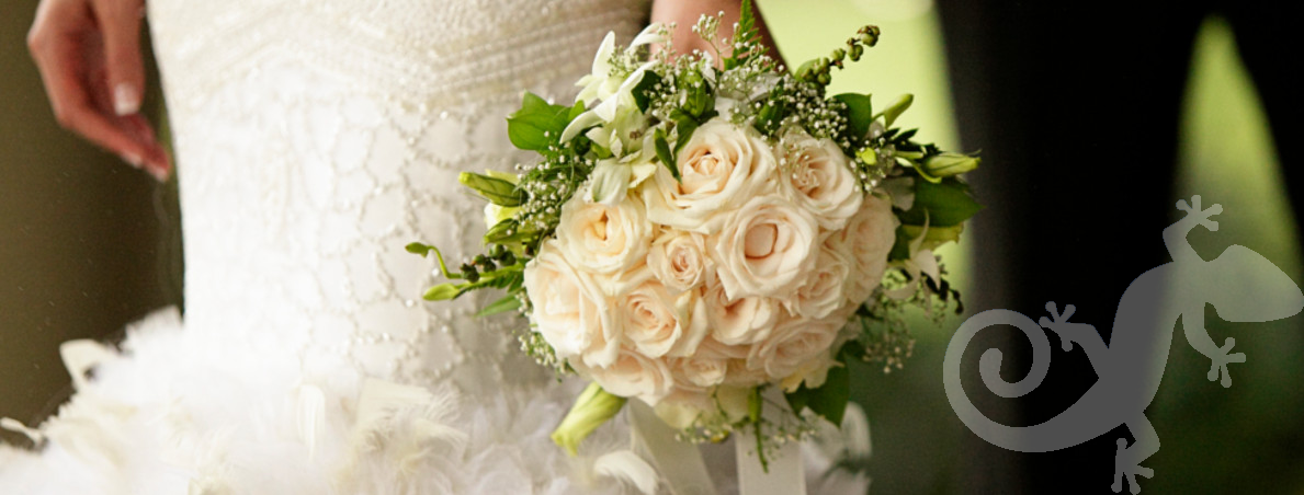 The Couple, bridal bouquet, elegant