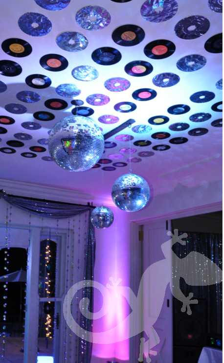 glam disco dance floor,  party glam