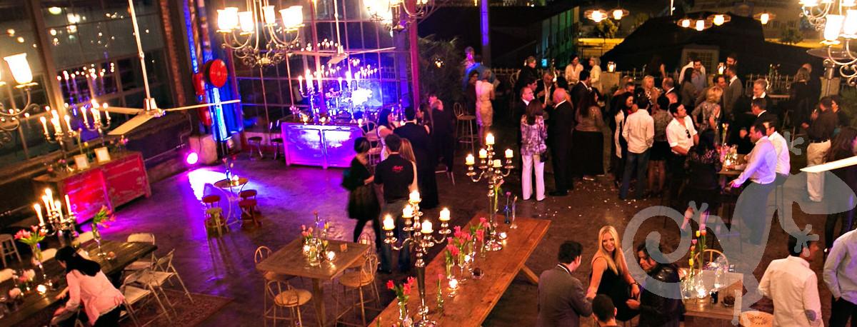 Engagement, reception, I said yes, Joburg style