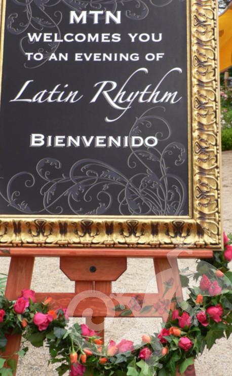 Latin Rhythm, Gala event, bienvenidos a todos