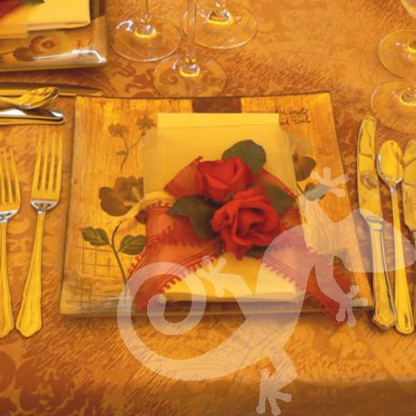 Latin Rhythm, Gala event, brocade, glass base plate