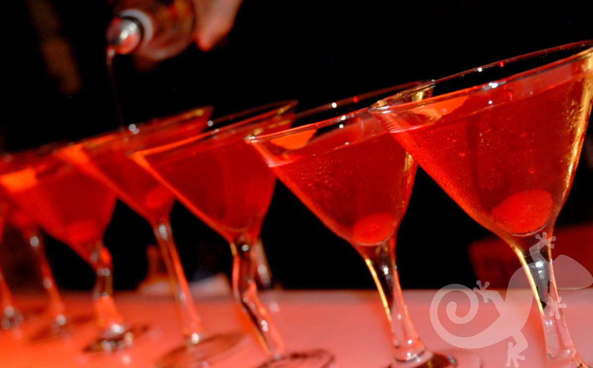 Moulin Rouge, cocktails, Au revoir party