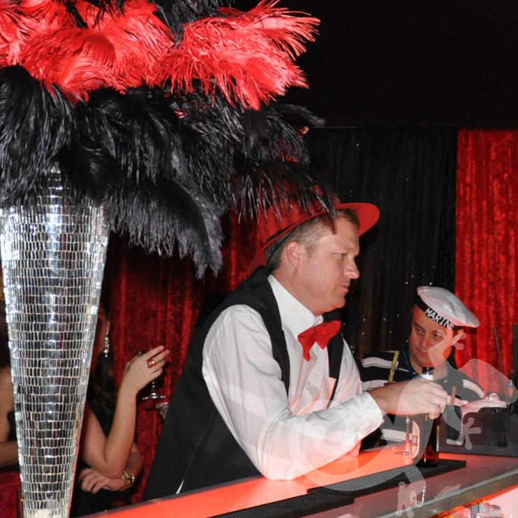 Salamander cocktails, pop up bar, Au revoir party