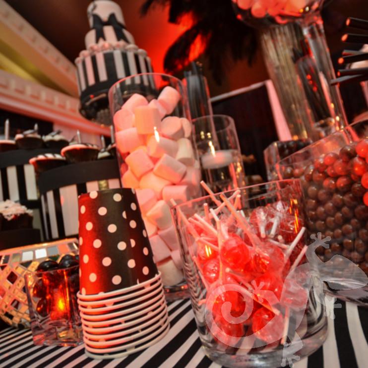 sweet,sweet 16th festive, spectacular birthday party, dessert buffet