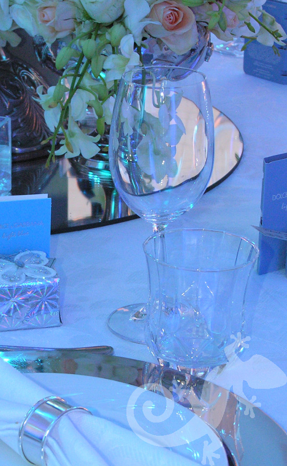 Spectacular wedding table, Salamander inspired evenings