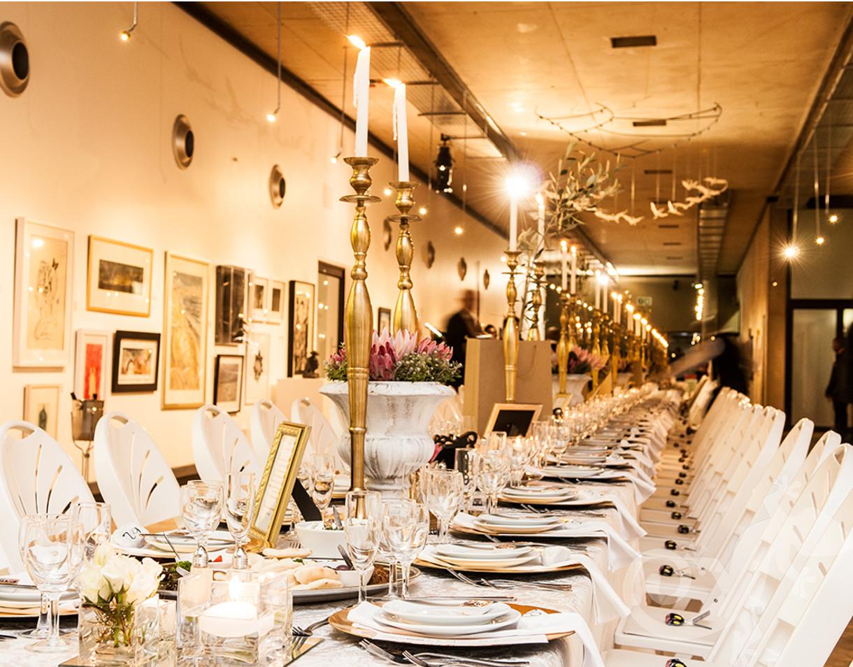 Spectacular table, Salamander designer evenings