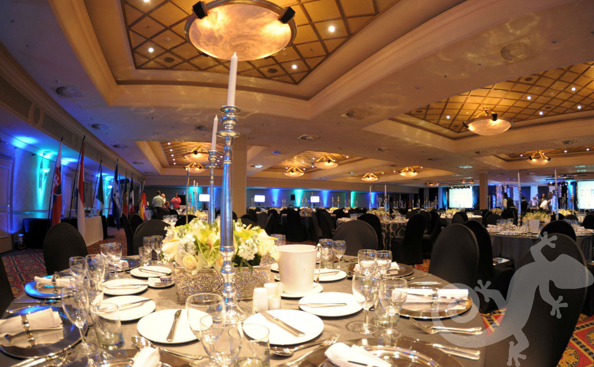 Corporate anniversary gala event, spectacular evening