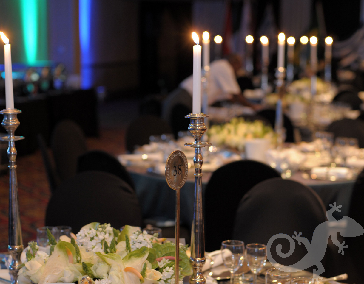 Corporate anniversary gala event, spectacular evening celebration