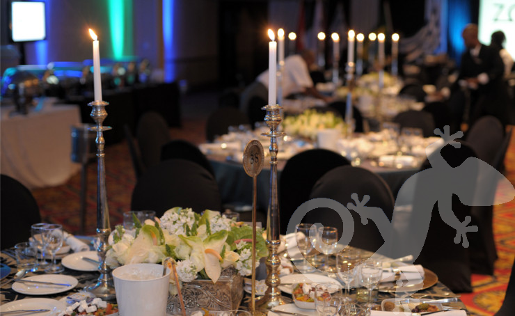 Corporate anniversary gala event, spectacular evening celebration